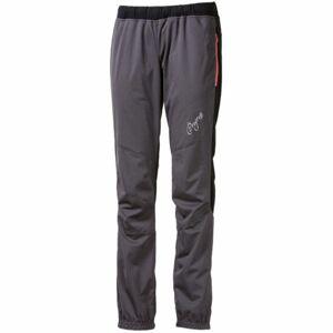 Progress STRIKE LADY šedá L - Dámské zateplené kalhoty na běžky