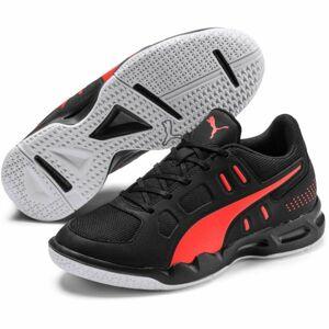 Puma AURIZ JR černá 3 - Juniorská volejbalová obuv