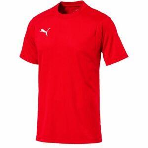Puma LIGA TRAINING JERSEY červená M - Pánské tričko