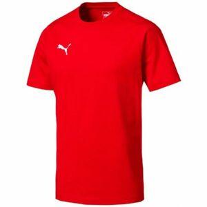 Puma LIGA CASUALS TEE červená XXL - Pánské tričko