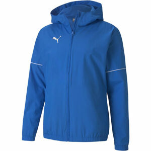 Puma TEAM GOAL RAIN JACKET modrá L - Pánská sportovní bunda