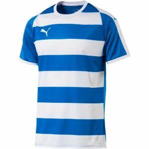 Puma LIGA JERSEY HOOPED JR modrá 128 - Dětské sportovní triko