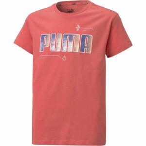 Puma ALPHA TEE G  164 - Dívčí triko