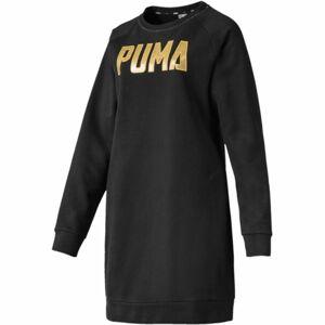 Puma ATHLETICS DRESS FL černá L - Dámské šaty