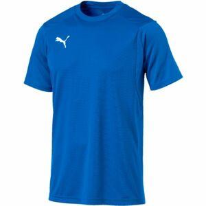 Puma LIGA TRAINING JERSEY modrá S - Pánské tričko