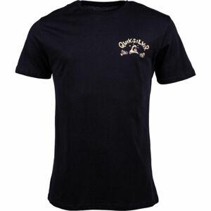 Quiksilver LULLABY BEACH SS černá L - Pánské tričko