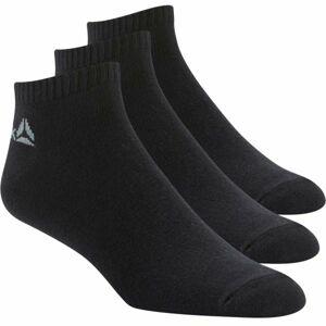 Reebok ACTIVE CORE INSIDE SOCK 3P černá 35 - 38 - Sportovní ponožky