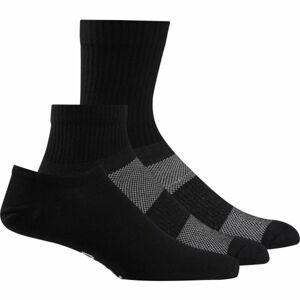 Reebok TE ALL PURPOSE SOCK 3P černá M - Ponožky