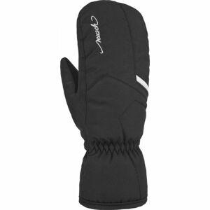 Reusch MARISA MITTEN černá 7,5 - Dámská lyžařská rukavice