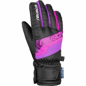 Reusch DARIO R-TEX XT JUNIOR růžová 5 - Lyžařské rukavice