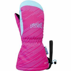 Reusch MAXI R-TEX XT MITTEN růžová 4 - Lyžařské rukavice