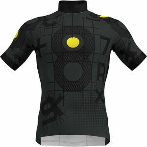 Rosti GRIGIO černá 2XL - Pánský cyklistický dres