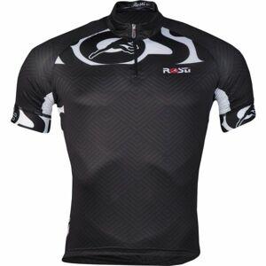 Rosti CRITERIUM KR ZIP černá 3xl - Pánský cyklistický dres
