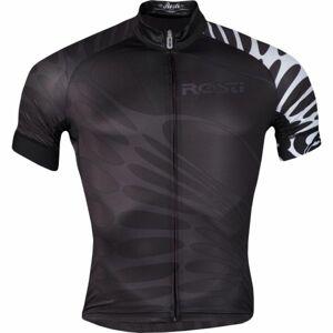 Rosti SERPE DL ZIP černá L - Pánský cyklistický dres