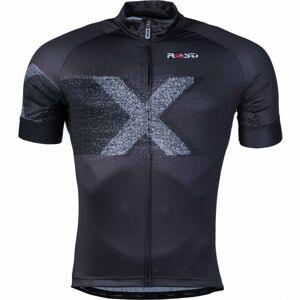 Rosti X DL ZIP černá L - Pánský cyklistický dres