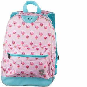 Runto RT-LEDBAG-LOLLY růžová UNI - Dětský batoh s LED osvětlením