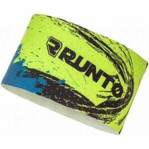 Runto WHIRL žlutá NS - Sportovní čelenka