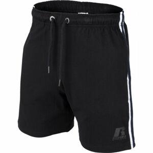 Russell Athletic R SIDE STRIPED SHORTS černá L - Pánské šortky
