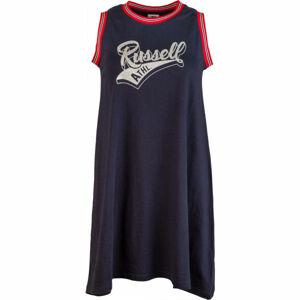 Russell Athletic SLEVELESS DRESS tmavě modrá XS - Dámské šaty