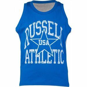 Russell Athletic BASKETBALL CHLAPECKÉ TÍLKO modrá 164 - Chlapecké tílko