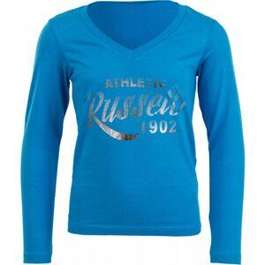 Russell Athletic DÍVČÍ TRIKO modrá 116 - Dívčí stylové tričko