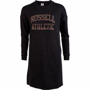 Russell Athletic PRINTED DRESS černá L - Dámské šaty