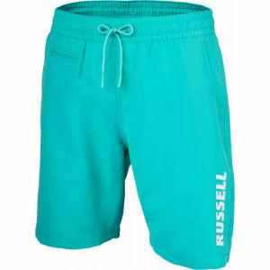 Russell Athletic RUSSELL 1902 SHORTS zelená M - Pánské šortky
