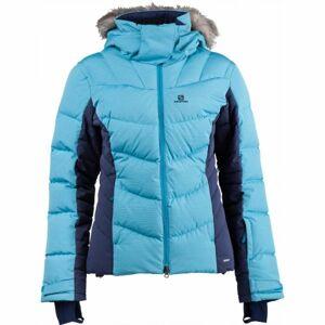 Salomon ICETOWN JKT W modrá XS - Dámská zimní bunda
