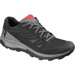 Salomon OUTLINE šedá 10.5 - Pánská hikingová obuv