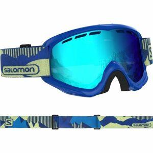 Salomon JUKE modrá  - Dětské sjezdové brýle