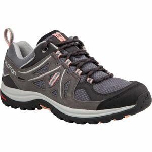 Salomon ELLIPSE 2 AERO W šedá 4.5 - Dámská hikingová obuv