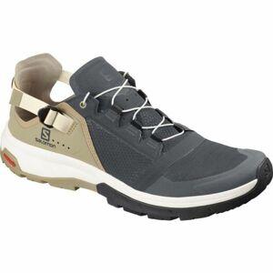 Salomon TECHAMPHIBIAN 4 šedá 10 - Pánská hikingová obuv