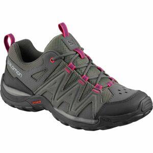 Salomon MILLSTREAM W tmavě šedá 5 - Dámská hikingová obuv