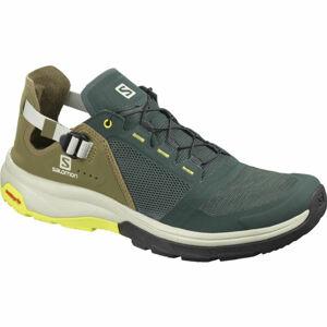 Salomon TECH AMPHIB 4 zelená 9.5 - Pánské sportovní boty