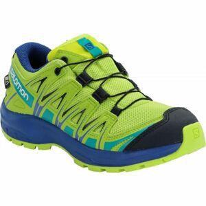 Salomon XA PRO 3D CSWP J žlutá 38 - Dětská běžecká obuv
