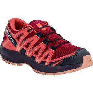 Salomon XA PRO 3D J červená 32 - Dětská běžecká obuv