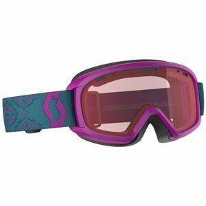 Scott WITTY JR fialová NS - Dětské lyžařské brýle