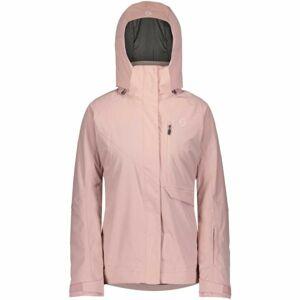Scott ULTIMATE DRYO 10 W JACKET růžová L - Dámská lyžařská bunda