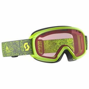 Scott JR WITTY fialová NS - Dětské lyžařské brýle