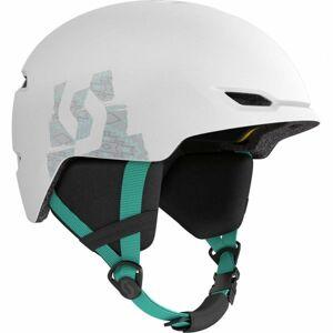 Scott KEEPER 2 PLUS bílá (53 - 56) - Dětská lyžařská helma