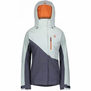 Scott ULTIMATE DRYO 10 W JACKET modrá M - Dámská lyžařská bunda