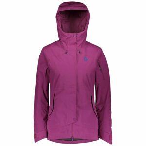 Scott ULTIMATE DRYO 40 W fialová S - Dámská zimní bunda