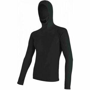 Sensor MERINO DF černá XL - Pánské triko