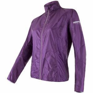 Sensor PARACHUTE W fialová S - Dámská sportovní bunda