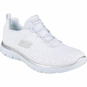 Skechers SUMMITS LEOPARD SPOT bílá 39 - Dámské tenisky