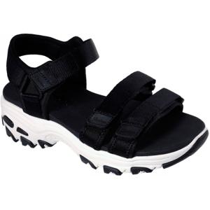 Skechers D'LITES FRESH CATCH černá 36 - Dámské sandály