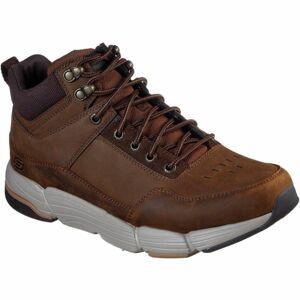 Skechers METCO hnědá 45 - Pánské kotníkové boty
