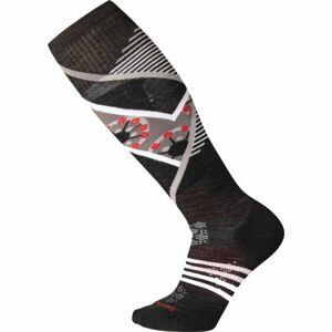 Smartwool PHD SKI LIGHT ELITE PATTERN W černá L - Dámské lyžařské ponožky