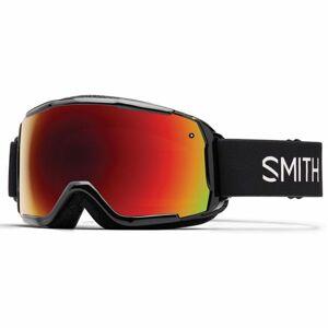 Smith GROM červená NS - Dětské lyžařské brýle