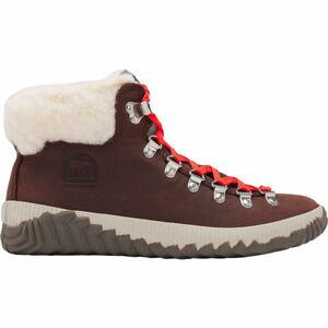 Sorel OUT N ABOUT PLUS CONQUES červená 5 - Dámská zimní obuv